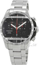 Certina DS Cascadeur Musta/Ter�s �42 mm