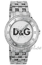 Dolce & Gabbana D&G Prime Time Crystal Silver Dial