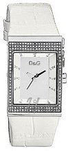 Dolce & Gabbana D&G Logoside Mirror Dial Leather
