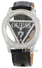 Guess Clearly Musta/Nahka Ø42 mm