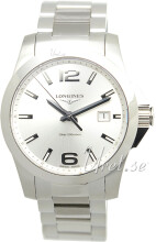 Longines Conquest Hopea/Teräs Ø41 mm