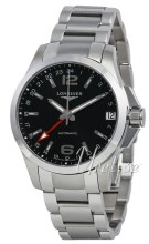 Longines Conquest Musta/Ter�s �41 mm