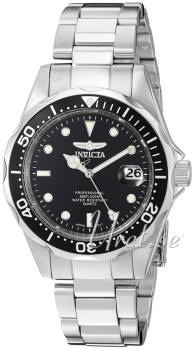 Invicta Quartz Black Dial