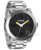 Nixon The Corporal SS Musta/Teräs Ø48.00 mm