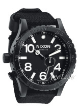Nixon The 51-30 Tide Musta/Tekstiili Ø51.00 mm