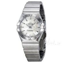 Omega Constellation Brushed 27 mm Steel MOP Dial