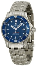 Omega Seamaster Professional Blue Dial Ladies