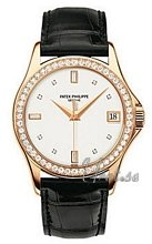 Patek Philippe Calatrava White Dial Rose Gold