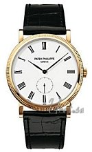 Patek Philippe Calatrava White Dial Yellow Gold
