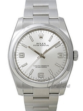 Rolex Oyster Perpetual Hopea/Teräs Ø36 mm